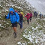 Herbstwanderung auf den höchsten Gipfel Deutschlands
